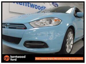 2013 Dodge Dart SXT/Rallye in baby blue! What a treat!