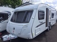SWIFT CHARISMA LEWIS T/A- 2008- 4 BERTH- FIXED BED END CHANGING ROOM- MOTOR MOVER