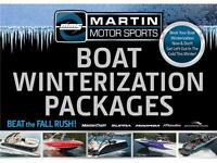 Boat Winterization Packages