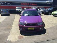 2005 Ford Falcon BA MkII XR6 Purple 5 Speed Manual Sedan Cardiff Lake Macquarie Area Preview