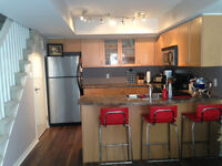 FULLY FURNISHED 2-story Liberty Village Townhouse for Rent