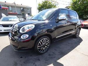 2014 FIAT 500L LOUNGE (AUTOMATIQUE, TOIT PANO, CUIR, FULL!!!)