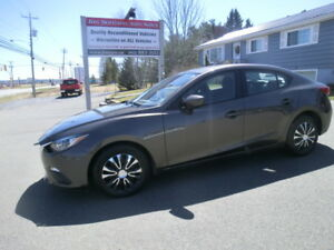 2016 Mazda 3 Skyactiv Only 55861 kms 0  Down Financing OAC