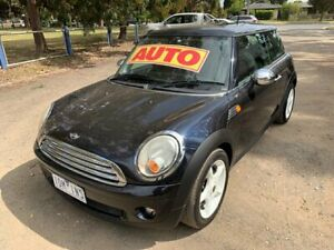2007 Mini Hatch R56 Cooper Black 6 Speed Sports Automatic Hatchback Dandenong Greater Dandenong Preview