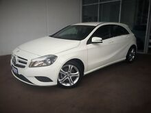 2015 Mercedes-Benz A180 W176 806MY D-CT White 7 Speed Sports Automatic Dual Clutch Hatchback Cannington Canning Area Preview