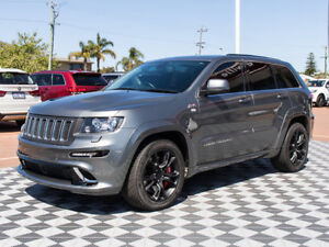2013 Jeep Grand Cherokee WK MY2013 SRT-8 Grey 5 Speed Sports Automatic Wagon
