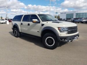 2013 Ford F-150 SVT Raptor- 6.2L, full load, HID, moon roof, fro