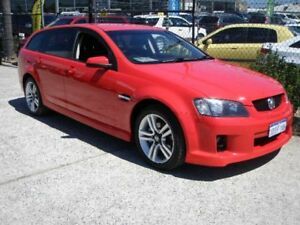 2009 Holden Commodore VE MY09.5 SV6 Red 5 Speed Automatic Sportswagon Wangara Wanneroo Area Preview