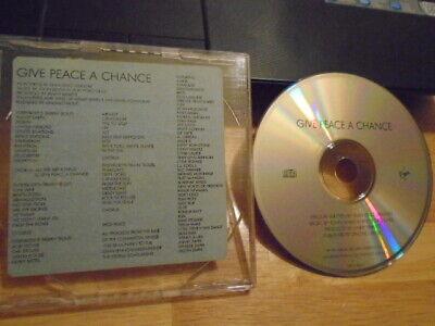 RARE PROMO beatles john lennon Give Peace a Chance CD TOM PETTY John Frusciante