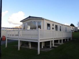 *CHEAP* Static Caravan, Full Deck & Central Heating FOR SALE Borth West WALES
