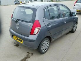 HYUNDAI I10 CLASSIC 1248 CC PETROL 2009 REG 5 DOOR (BREAKING ALL PARTS AVAILABLE)