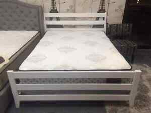 BRAND NEW SOLID WOOD CANADIAN MADE QUEEN  BEDS ON SALE Kitchener / Waterloo Kitchener Area image 5