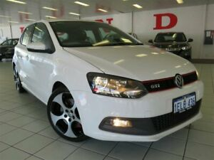 2014 Volkswagen Polo 6R MY14 GTI DSG White Automatic Hatchback Osborne Park Stirling Area Preview