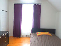 Côte-Vertu one furnished room rent Bombardier Montreal