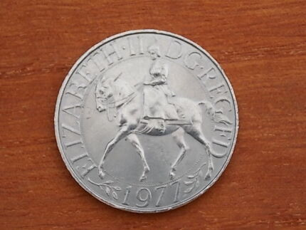 1977 British Jubilee Coin Armidale City Preview