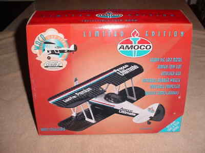 Gearbox Amoco Ultimate Limited Edition Die Cast UBF Biplane # 02002   (NIB )