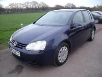 VOLKSWAGEN GOLF S TDI - FSH, Blue, Manual, Diesel, 2005