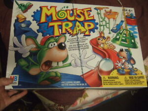 new condition Mouse Trap Game with instruction sheet, 5699