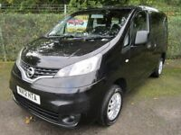 Nissan NV200 1.5 SE DCi 89 SE Turbo Diesel 7 SEATER WITH HOIST (black) 2012