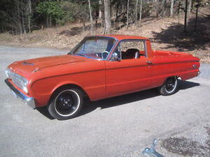 1962 FORD RANCHERO  - FALCON COMET MUSTANG