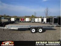 2015 RC TRAILERS (20 FT ALUMINUM DECKOVER FLATBED (9990 GVWR)