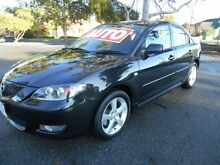 2005 Mazda 3 BK Maxx Sport Black 4 Speed Auto Activematic Sedan Nailsworth Prospect Area Preview
