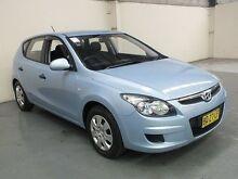 2011 Hyundai i30 FD MY12 SX Blue 4 Speed Automatic Hatchback Gateshead Lake Macquarie Area Preview
