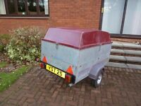 Galvanised Steel Trailer with Integrated Cover