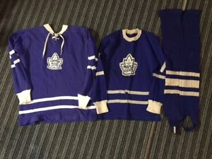 Vintage Toronto Maple Leafs - 2 Jersey's & Socks for sale - $40