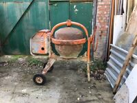 Petrol Mixer well used