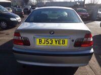 BMW 318I ES 53 REG 4DR SILVER SALOON