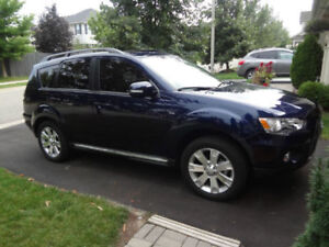 2013 Mitsubishi Outlander XLS| 4X4| LEATHER| SUNROOF| CAMERA