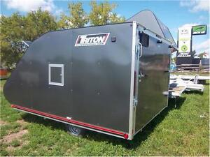 TRITON TC 118 LOW RIDER ENCLOSED SNOWMOBILE TRAILER Peterborough Peterborough Area image 4