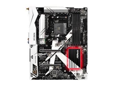 ASRock X370 Lollapalooza SLI/ac AM4 AMD Promontory X370 SATA 6Gb/s USB 3.1 HDMI ATX AM