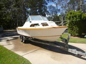 21 Ft Cruise Craft Sea Metre Half Cabin (Unfinshed Project) Landsborough Caloundra Area Preview
