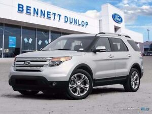 2014 Ford Explorer Limited-Moon Roof-Nav-Heated/Cooled Seats