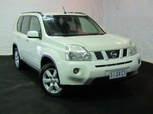 2010 Nissan X-Trail T31 MY10 TS White 6 Speed Manual Wagon Derwent Park Glenorchy Area Preview