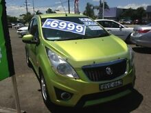 2010 Holden Barina Spark MJ CDX Green 5 Speed Manual Hatchback Broadmeadow Newcastle Area Preview