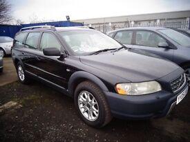 2005 05 reg volvo xc70 d5 se awd geartronic diesel auto estate MOT'd 1 YEAR good old car £1695