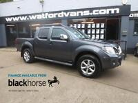 2013 Nissan Navara Tekna 2.5DCi 4x4 Double Cab A/C SatNav Leather Alloys Bluetoo