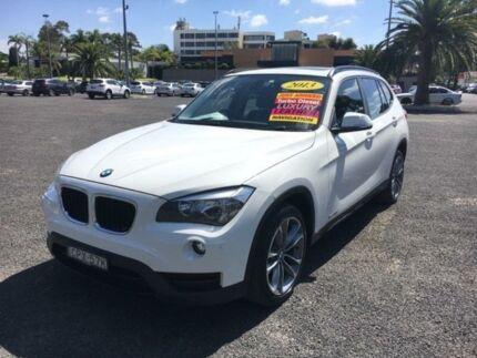 2013 BMW X1 E84 LCI sDrive18d White Sports Automatic Wagon