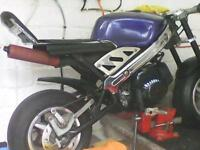 ££ WANTED NONE RUNNING MINI MOTO .or your . GO PEDS ££