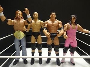 WWE Mattel 7 Basic Figures LOT sale