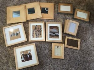 Wood frame lot