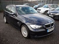 BMW 3 SERIES 2.0 320D SE TOURING ESTATE 161 BHP (blue) 2006