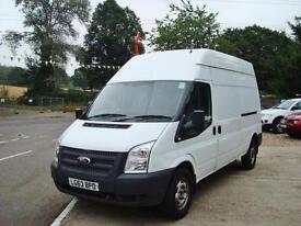 2013 FORD TRANSIT 2.2 TDCI LWB High Roof Van TDCi 100ps Euro 5