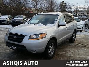 2008 Hyundai Santa Fe Limited AWD Leather heated Sunroof low km