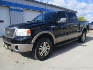 2006 FORD F-150 LARIAT 4X4, LOADED, HAS SAFETY&WARRANTY $9,450