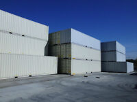 40' One-Trip (New) Steel Shipping Containers On Sale
