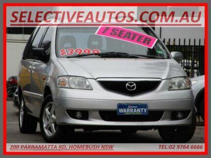 2002 Mazda MPV LW Silver 4 Speed Automatic Wagon Homebush Strathfield Area Preview